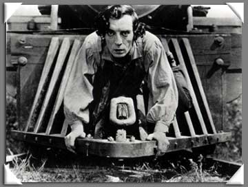 """Buster Keaton y su """"General"""""""